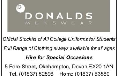 Image Donalds sponsorship ad
