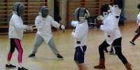Image: Junior foil fencing