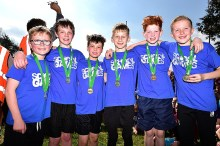 Image: Official St Andrew's XC winners photo 2019