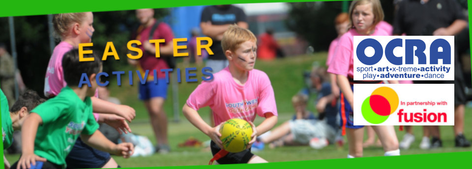 Easter activities 2020 banner