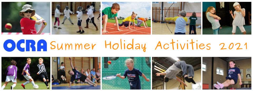 OCRA Summer Holiday Activities 2021