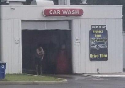 Car Wash or Human Wash?
