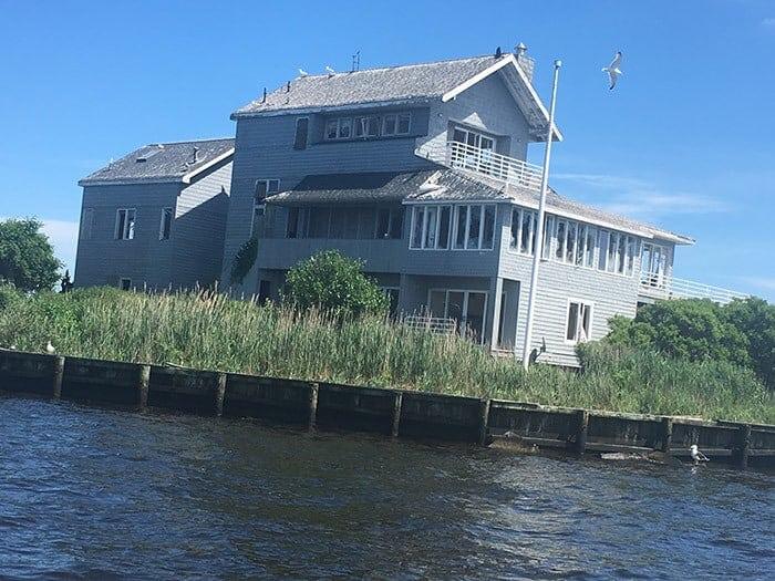 Hankins Island: The story behind Sedge Island.