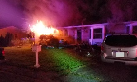 Fire Damages Fire Fighter's Home & Injures Dog