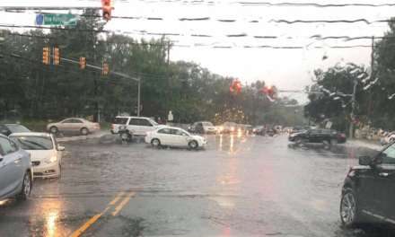 Lakewood: New Hampshire @ Oak- Flooded.