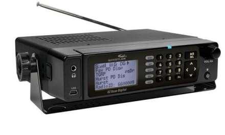 Scanner for Sale: Whistler WS-1098 Desktop/Mobile