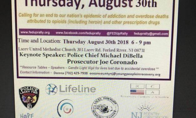 Thursday 08/30: International Overdose Awareness Day