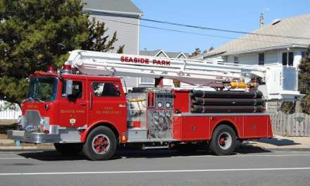 Seaside Park: Possible Electrical Fire