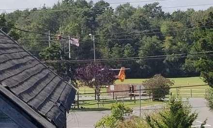 Eagleswood: sta.70,52 lz at sta.52 bldg railroad ave. Landing zone