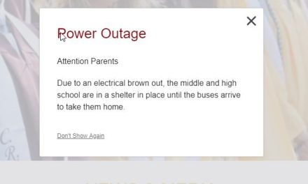 Bayville: Central Regional High School – Shelter In Place – No Power