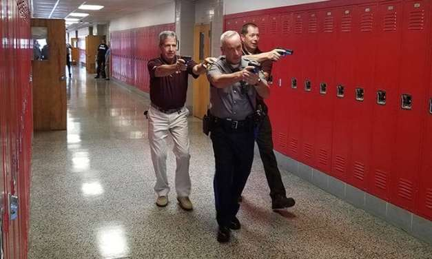 TR: Schools Hold Law Enforcement Training Day.