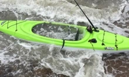 Seaside Park: Kayak in distress