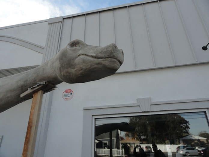 BERKELEY: Bayville's Dinosaur Starting To Evolve