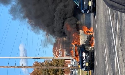 Toms River: Working Vehicle Fire
