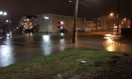 SEASIDE HEIGHTS: Flooding
