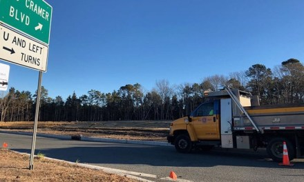 STAFFORD: East Road Improvements Continue At Rt. 72 Jughandle