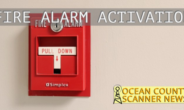 Toms River: Fire Alarm Activation