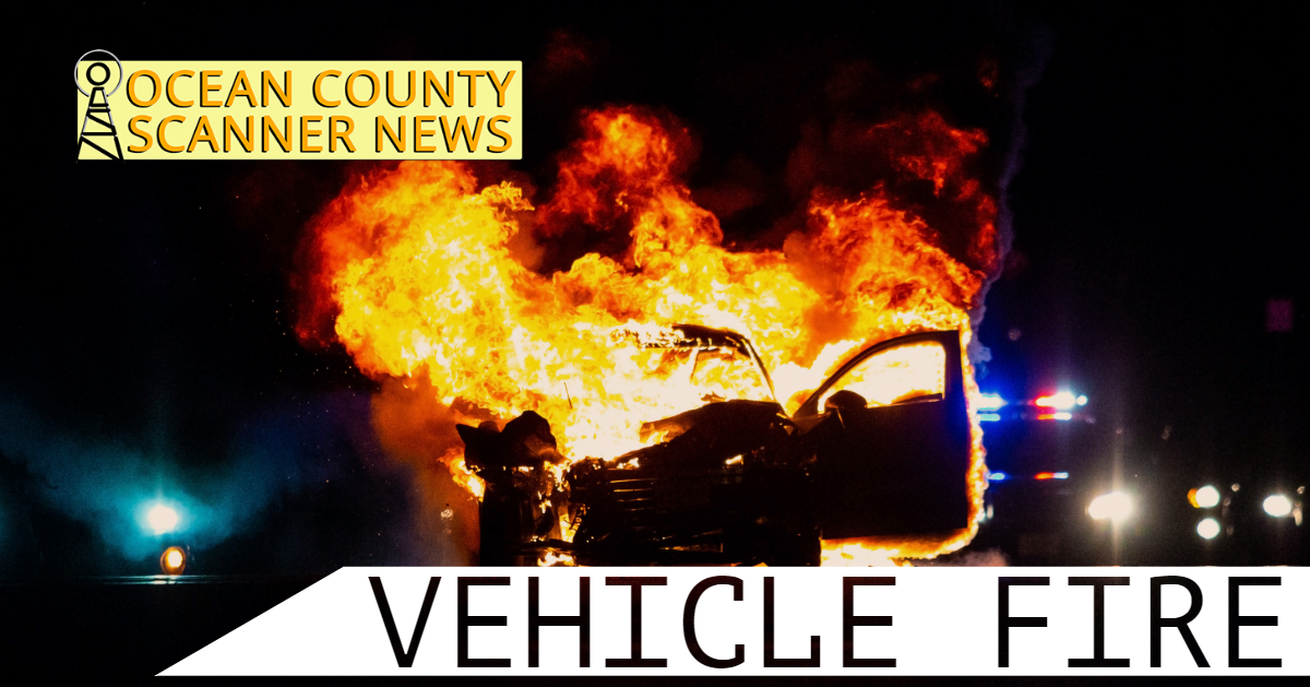 TOMS RIVER: Vehicle Fire – Ocean County Mall