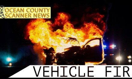 GSP: Vehicle Fire near SB65.1