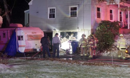 Garage fire under investigation in Toms River