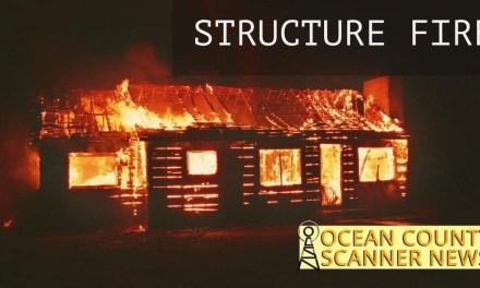 Little Egg Harbor: Structure Fire