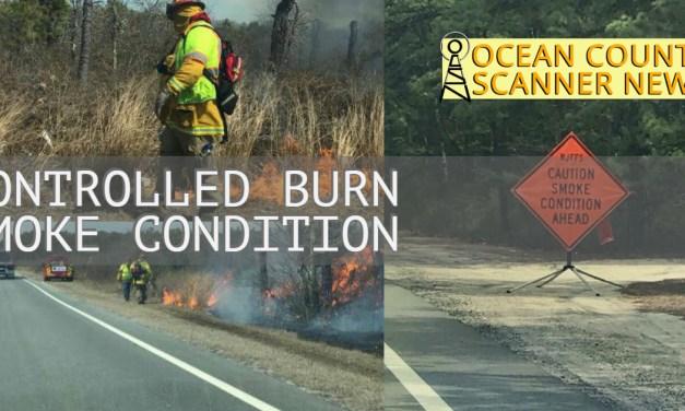 OCEAN COUNTY: Controlled Burn