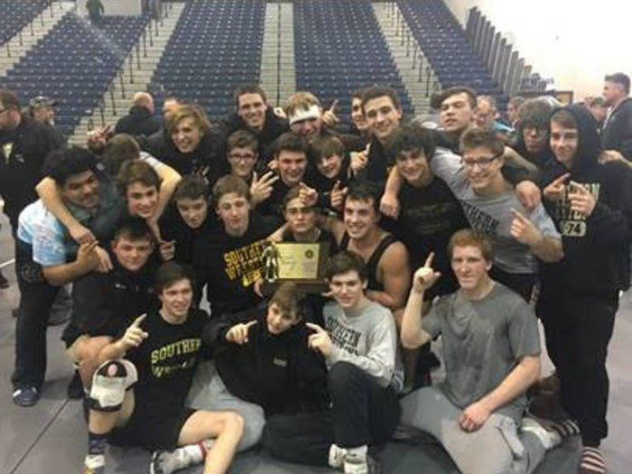 Southern Regional Wrestling Team Wins State Title