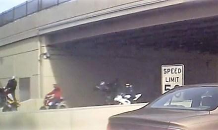 PHILADELPHIA: Philly Hang Gang – ATV's Poppin' Wheelies on 676! (VIDEO)