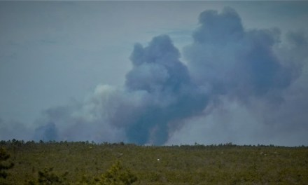 BURLINGTON COUNTY: Route 72 Closed Due To Wild Fire