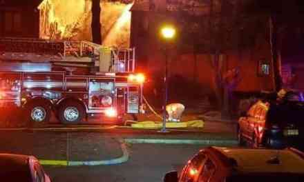 TR: Condo Fire Under Investigation In Anchorage Harbor