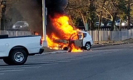 GSP: Lacey Rest Area- Vehicle Fire