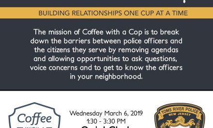 TRPD: Coffee With a Cop Today!