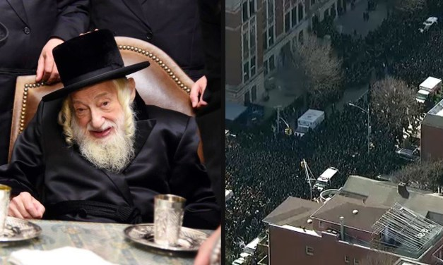 BROOKLYN: Two NYPD Officers Injured During Grand Rabbi's Funeral Procession