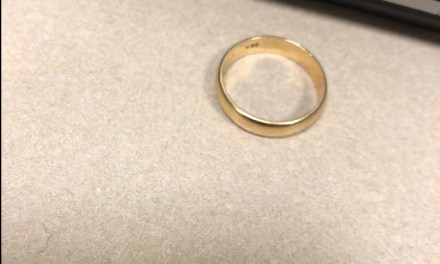 BRICK: Lost Wedding Ring? Police May Have It!
