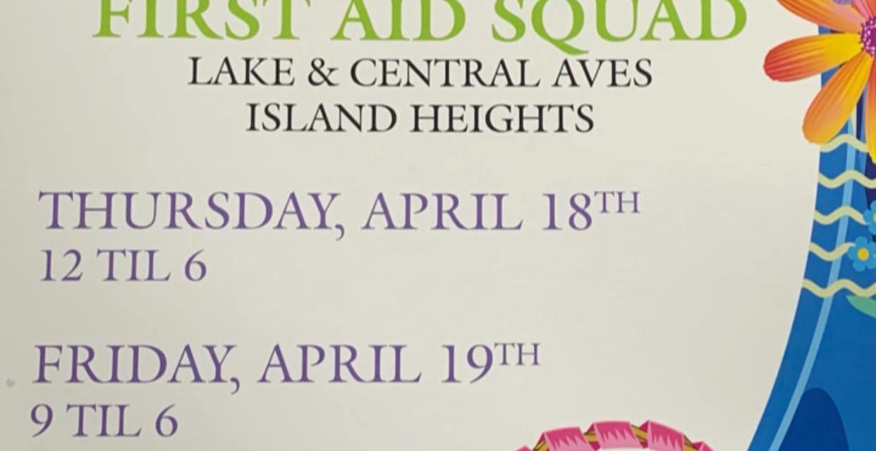 ISLAND HEIGHTS: First Aid Flower Sale
