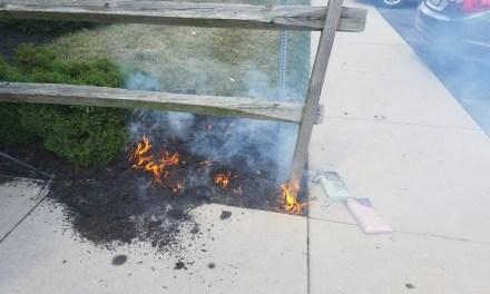 LEH: Mulch Fire