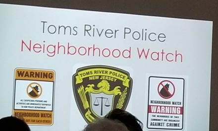 Toms River: Neighborhood Watch Recognizes Dispatch