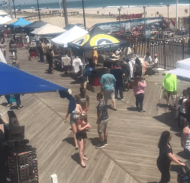 Seaside Heights: Disturbance