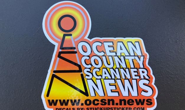 Monday OCSN Sticker Giveaway @ Toms River Diner!