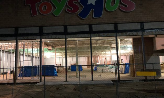 TR: Construction Underway @ Toys R Us