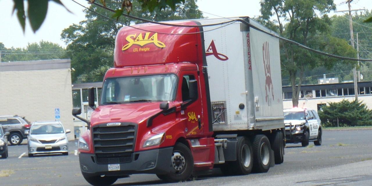 FARMINGDALE: Truck Takes Down Wires