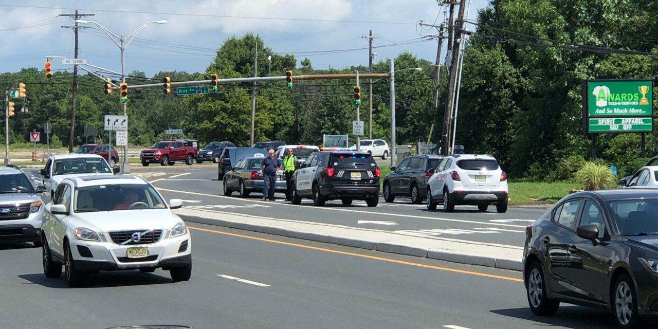 BRICK: Disabled Vehicle Snarls Traffic