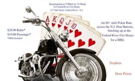 LACEY: Forked River Fire Department- Motorcycle Poker Run
