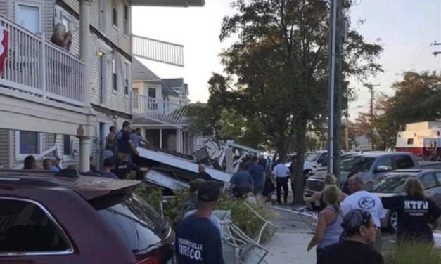 WILDWOOD: Balcony Collapse