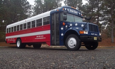 Mays Landing: Church Bus Stolen