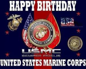 Happy  244th Birthday to the United States Marines!