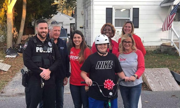Ocean Gate officials and Keller Williams Real Estate help local teen.