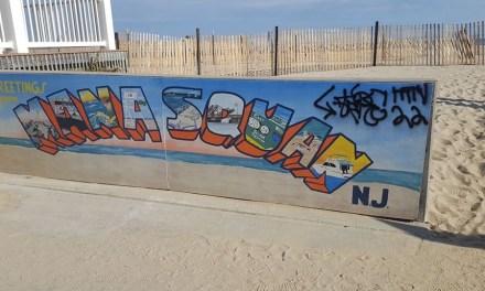 MANASQUAN: Graffiti Defaces Town Mural