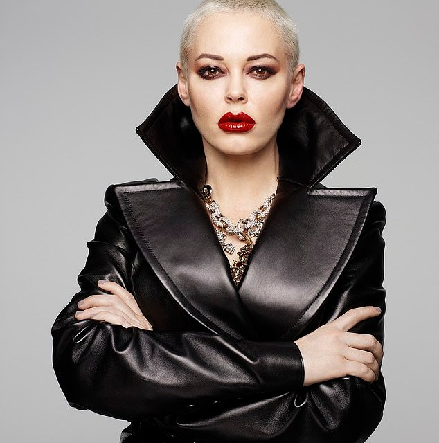 Actress Rose McGowan apologizes to Iran for U.S. Air Strikes and calls U.S. Government a Terrorist Regime
