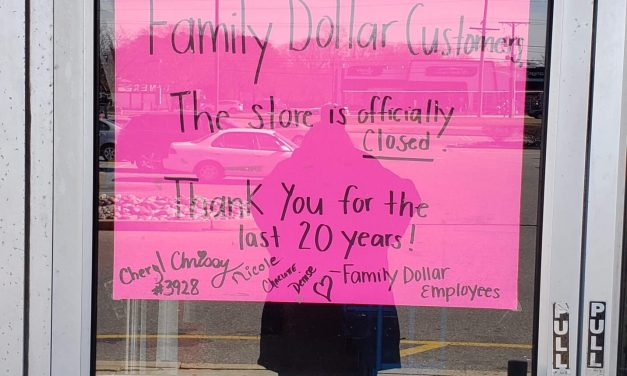 BAYVILLE: Family Dollar Closes